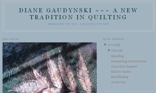 Diane Gaudynski's Blog