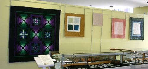 Quilts at the NEQM Museum Shop
