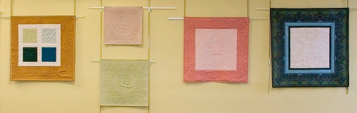 New England Quilt Museum exhibit of quilts by Diane Loomis