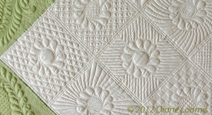 Elegant quilted background patterns for your quilt