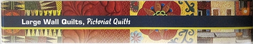 2012 American Quilters Society Paducah Show Catalog page header with Five Bar Blues by Diane Loomis