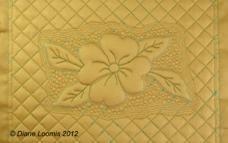 Quilting Trapunto Designs : Machine Trapunto Tutorial Diane Loomis Quilts